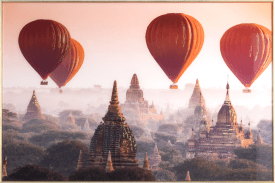 air balloon photo print 80x120cm