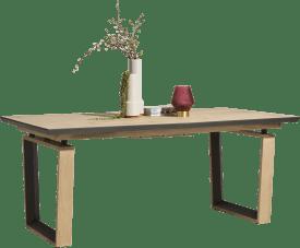 table a rallonge 190 (+ 50) x 100 cm