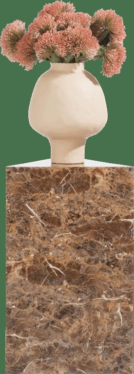 marble look colonne h65cm