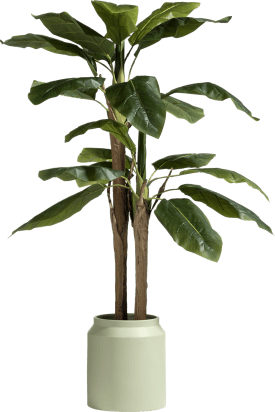 banana tree plante artificielle h140cm