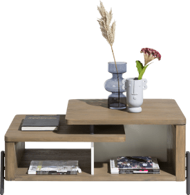 table basse 110 x 60 cm + 1-niche