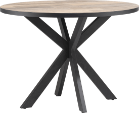 table de bar ronde 130 x 110 cm