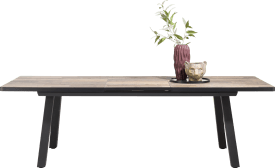 table a rallonge 160 (+ 50) x 98 cm