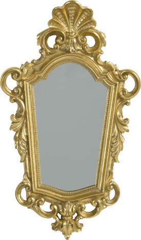 miroir barok 36 x 21 cm