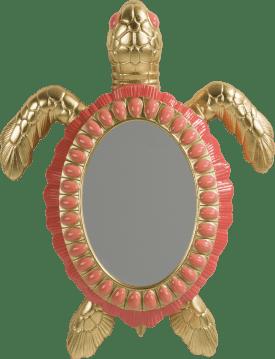 turtle spiegel 35x46cm