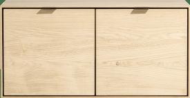 box 45 x 90 cm. - hang + 2-deuren