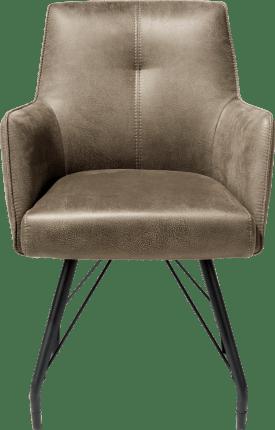 armlehnstuhl mit taschenfedern - stoff rocky