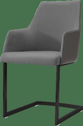 armlehnstuhl schwarz (rob)