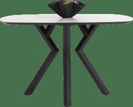 bartafel ovaal - 150 x 105 cm - (hoogte 92 cm)