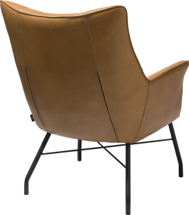 fauteuil + ressorts ensaches - cuir laredo