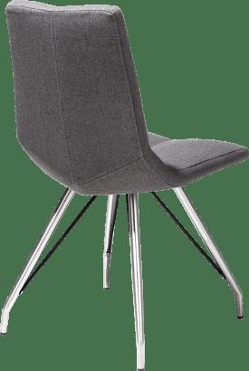 chair - rvs - spider frame - lavinia anthracite