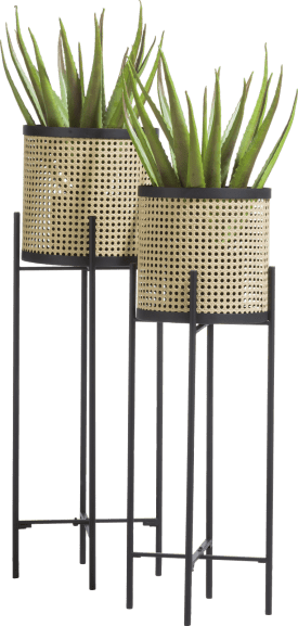 harry set of 2 planters h90-80cm