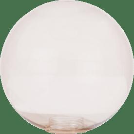 lia - verre de remplacement - 20 cm brun