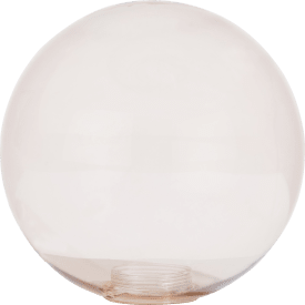 lia - ersatzglas - 20 cm braun