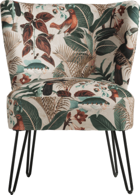 summer jungle fauteuil