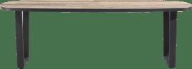 eetkamertafel ovaal 240 x 110 cm