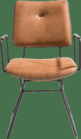 armlehnstuhl - schwarz gestell - kibo