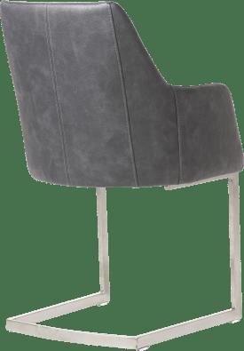 armlehnstuhl swing edelstahl - stoff pala