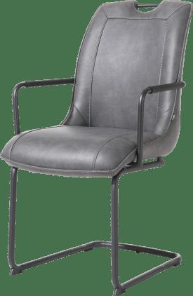 armlehnstuhl - swing rund + handgriff - stoff pala