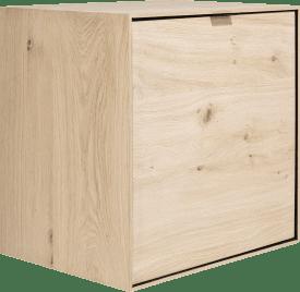 box 60 x 60 cm. - zum aufhaengen + 1-tuer