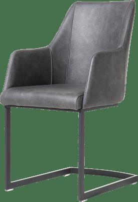 armstoel zwart swing (rob) - stof pala