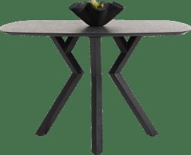 table de bar ovale - 150 x 105 cm - (hauteur 92 cm)