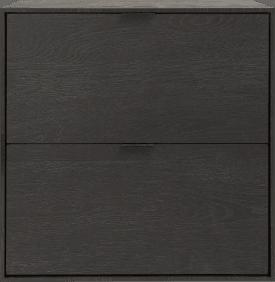 box 60 x 60 cm. - zum aufhaengen + 2-laden