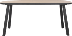 tresentisch oval 210 x 110 cm