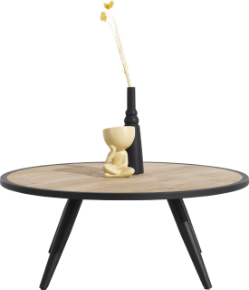 table basse ronde - diametre 80 cm
