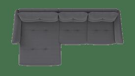 Longchair XL links - 3 Sitzer Armlehne rechts