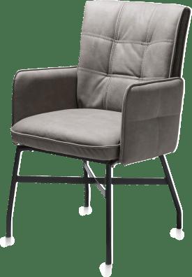 fauteuil - cadre en metal
