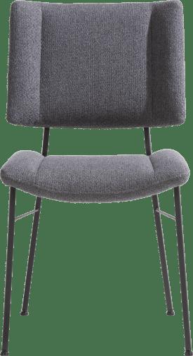 stuhl - fuesse schwarz - stoff ponti