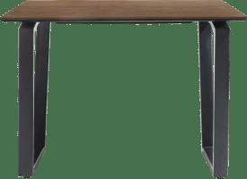 bartafel 130 x 100 cm (hoogte: 92 cm)