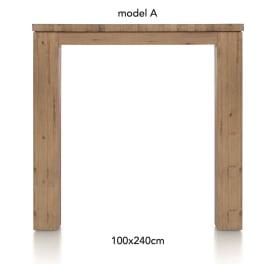 tresentisch 240 x 100 cm - aad