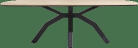 table ovale 220 x 108 cm