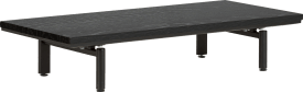 platform 100 cm. incl. 2 metalen poten