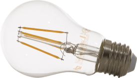 led e-27 - dimmer - retro - warm white (clear)