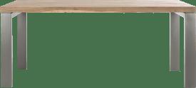 eetkamertafel 190 x 100 cm - u-onderstel