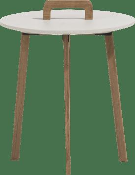 bijzettafel revillo - rond 42 cm