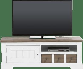 tv-sideboard 140 cm - 1-tuer + 1-lade + 1-nische