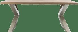 eetkamertafel 190 x 100 cm - x-onderstel