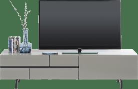 meuble tv 170 cm - 1-tiroir + 1-porte rabattante