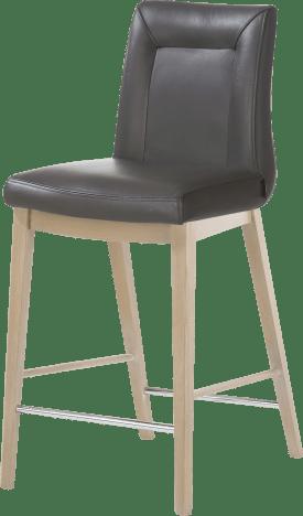chaise bar - pieds en bois hetre