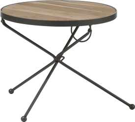 table d'appoint esha - 50 x 50 cm