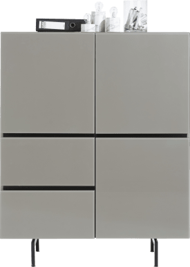 highboard 115 cm - 3-tueren + 2-laden