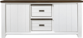 dressoir 185 cm - 2-deuren + 2-boxen (+ 23947)