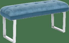 bank zonder rug + pocketvering - 105 cm