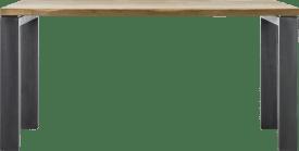 eetkamertafel 160 x 90 cm