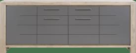 sideboard 240 cm - 4-tueren + 1-lade