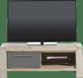 tv-sideboard 120 cm - 1-klappe + 2-nischen